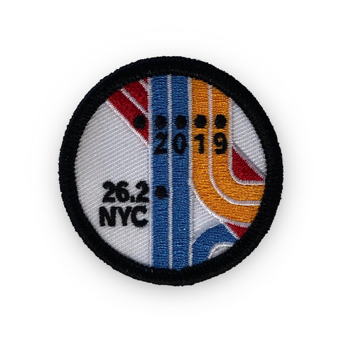 New York City NYC Marathon 2019 Commemorative Race Day Patch