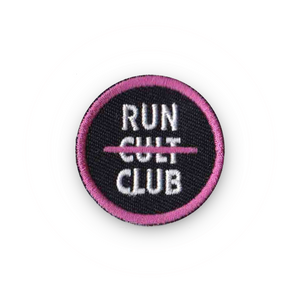 Run Club Devotee Merit Badge Patch for Runners