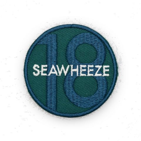 SeaWheeze Half Marathon 2018 Commemorative Race Day Patch