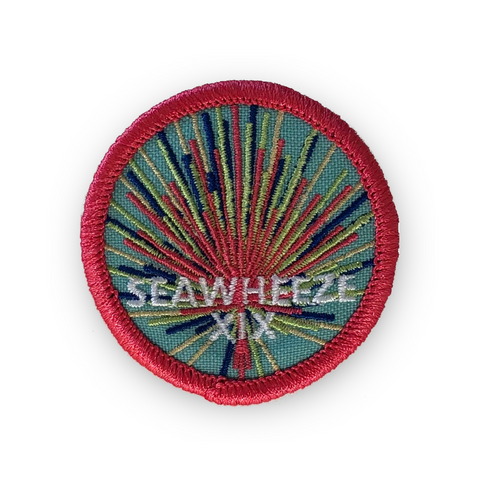 SeaWheeze Half Marathon 2019 Commemorative Race Day Patch