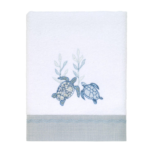 Avanti Linens Caicos Hand Towel, Optic White