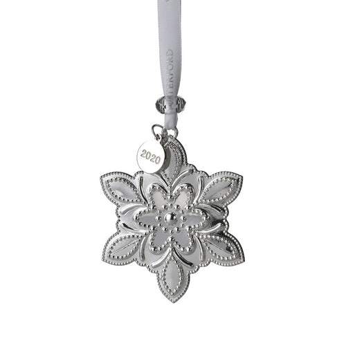 Waterford 2020 Silver Snowflake Ornament