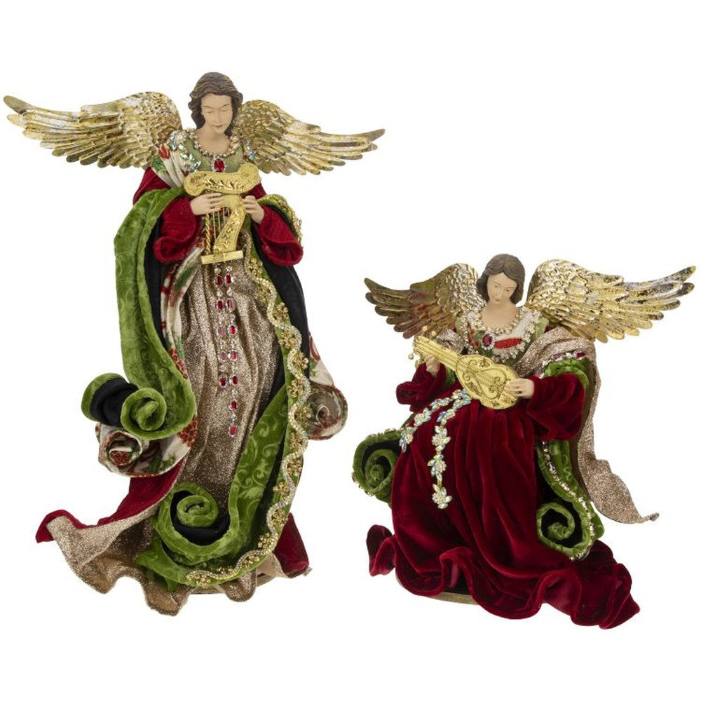 Mark Roberts 2020 Collection Angels of Venice, Assortment of 2 Figurines