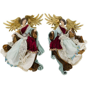 Mark Roberts 2020 Collection Flying Angels of Venice, Assortment of 2 Figurines