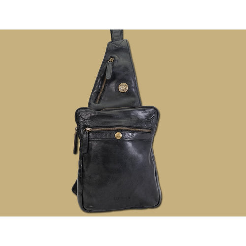Lee River Leather Sling Bag - Irish Made