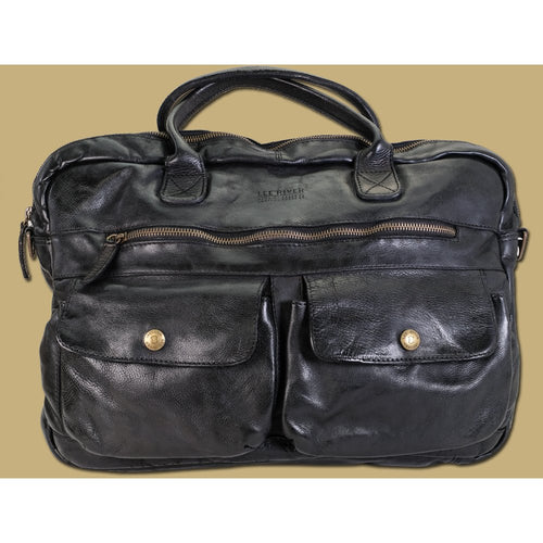 Lee River Leather Rory Satchel - Irish Made