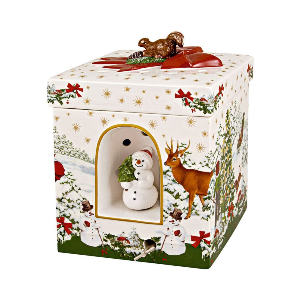 Villeroy & Boch Christmas Toys Large Square Gift Box Christmas Tree