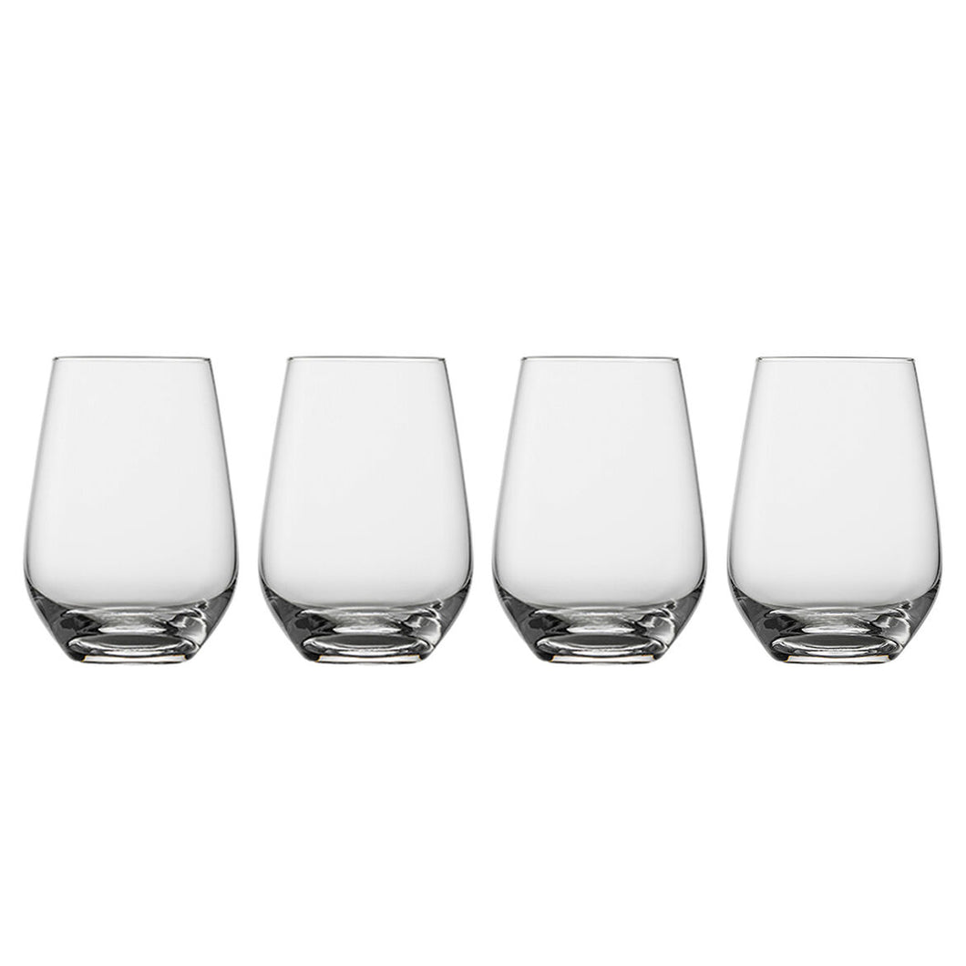 Villeroy & Boch Voice Basic Glass Highball Stemless, Set of 4