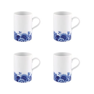 Vista Alegre Blue Ming Mug, Set of 4