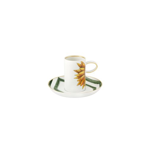 Vista Alegre Amazonia Coffee Cup And Saucer