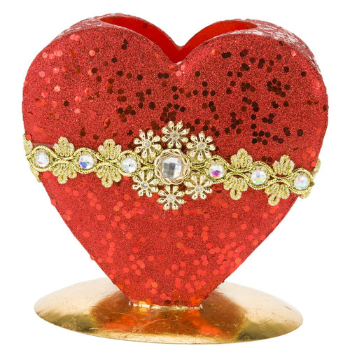 Mark Roberts 2020 Collection Valentine Heart Planter, 6.5 inches