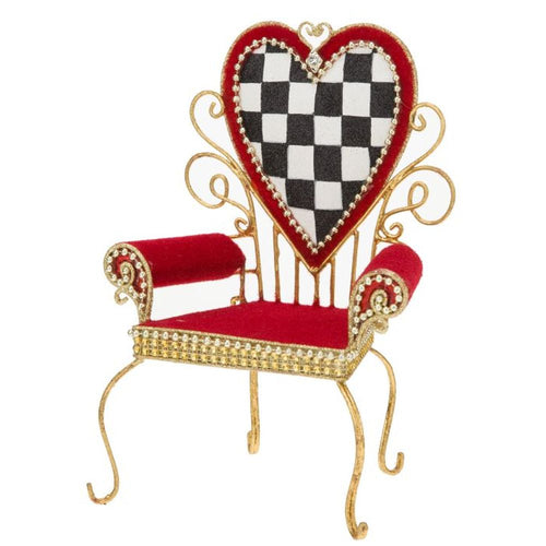Mark Roberts Fairy/Elf Heart Chair 9.5'' Figurine