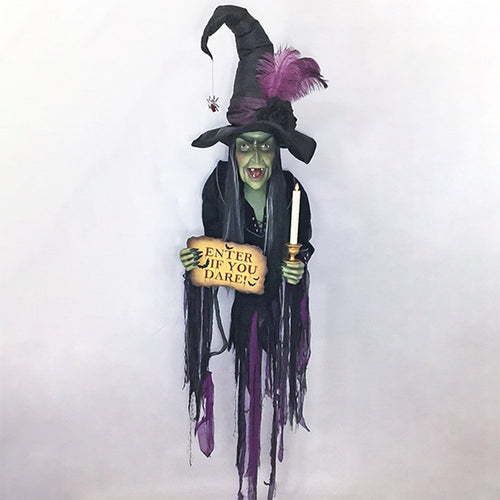Katherine's Collection 2020 Haunted Witch Wall Piece