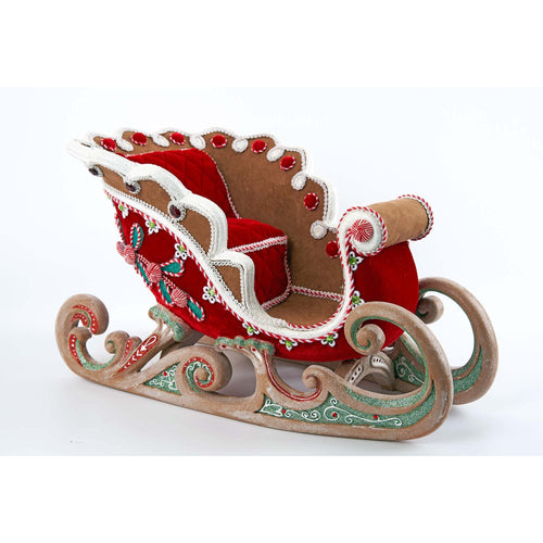 Katherine's Collection Gingerbread Sleigh