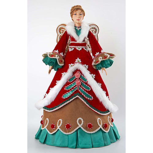 Katherine's Collection Gingerbread Cone Angel Figurine