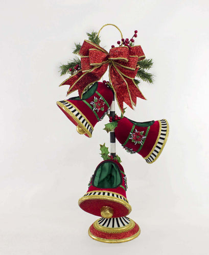 Katherine's Collection 2021 Merry and Bright Stacked Bell Bowls
