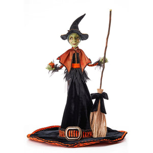 Katherine's Collection 2021 Witch Hat Witch
