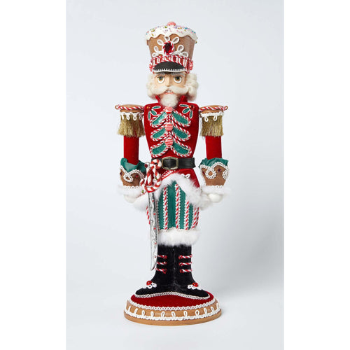 Katherine's Collection 2021 Captain Cook E. Crumbs Nutcracker, 19 inches