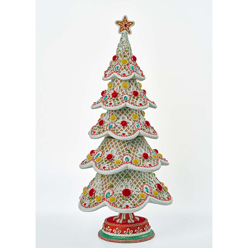 Katherine's Collection Gingerbread Tree Tabletop Decor