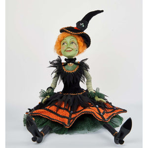 Katherine's Collection 2021 Witch Lanky Leg Figurine, 18 Inches