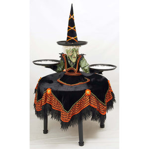 Katherine's Collection 2021 Bewitching Bash Witch Cupcake Holder