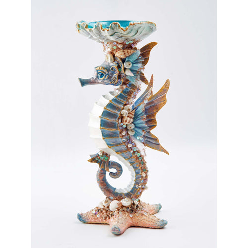 Katherine's Collection 2021 Sea Horse Candle Holder