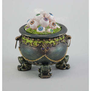 Katherine's Collection 2021 Cauldron of Eyeballs Tabletop Decor