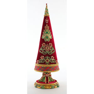 Katherine's 2020 Collection Christmas Wishes Jeweled Tree 24""