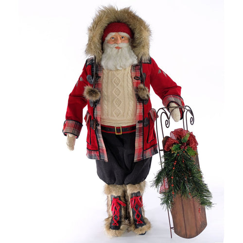 Katherine's 2020 Collection Aspen Santa Doll 36 inches