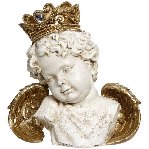 Mark Roberts 2020 Collection Crowned Cherub 8.5-Inch Figurine