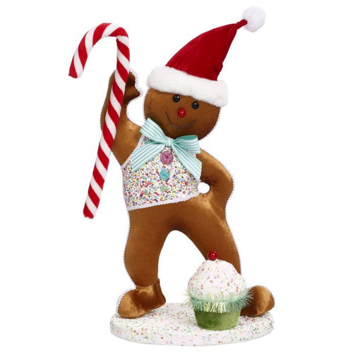Mark Roberts 2020 Collection Sprinkle Gingerbread 15.5-Inch Figurine