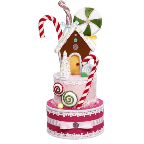 Mark Roberts 2020 Collection Gingerbread Tree Topper 22.5-Inch Decoration