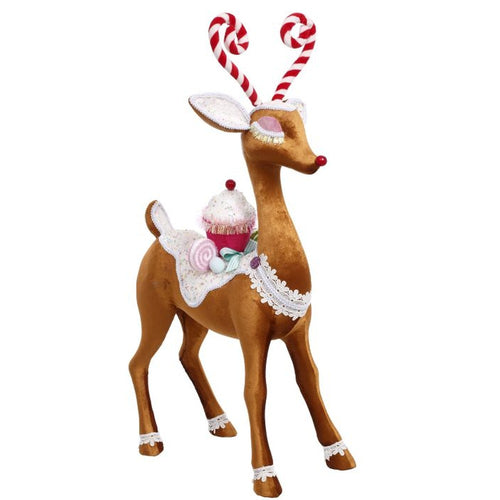 Mark Roberts 2020 Collection Candied Deer 29-Inch Figurine