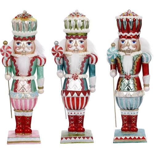 Mark Roberts 2020 Collection Sweet Nutcracker, Assortment of 3 Figurines