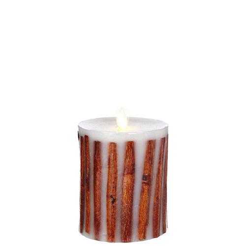 Raz Imports Moving Flame Cinnamon Stick Candle
