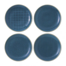 "Load image into Gallery viewer, Gordon Ramsay Maze Grill Set of 4 Salad Plate 9"" Mixed"