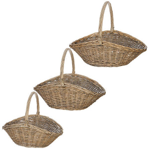 "Raz Imports Farm To Table 24.5"" Basket, Set of 3"