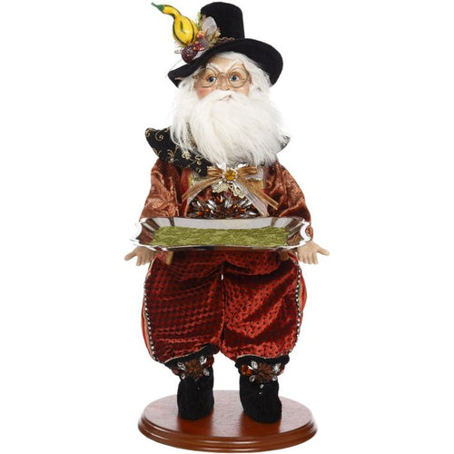 Mark Roberts 2020 Collection Pilgrim Elf with Platter 18-Inch Figurine