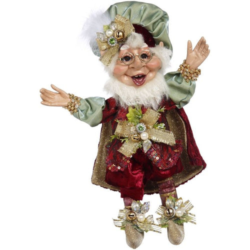 Mark Roberts 2020 Collection Gift Giving Elf, Small 10-Inch Figurine