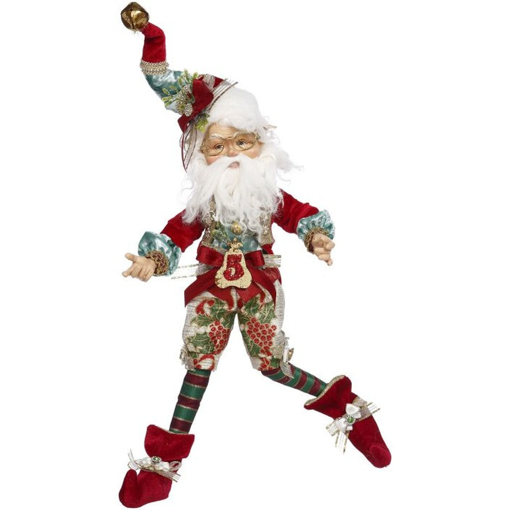 Mark Roberts 2020 Collection 5 Golden Rings North Pole Elf, Medium Figurine