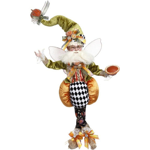 Mark Roberts 2020 Collection Pumpkin Pie Fairy, Medium 17-Inch Figurine