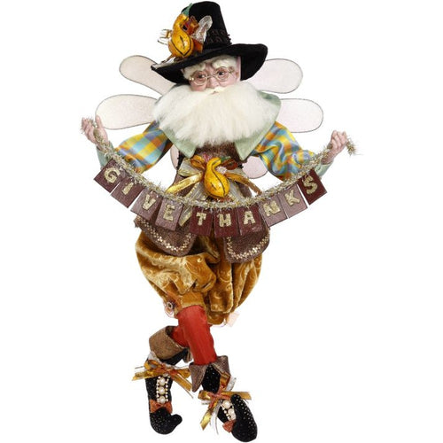 Mark Roberts 2020 Collection Thanksgiving Fairy, Large 21-Inch Figurine