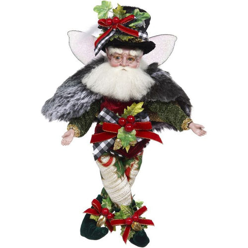 Mark Roberts 2020 Collection Holly Berry Fairy Figurine, Small 11''