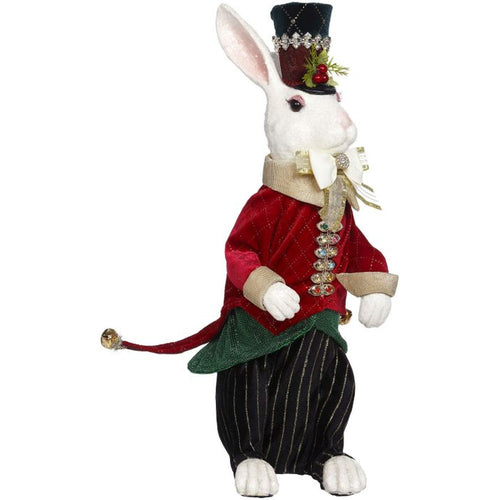 Mark Roberts 2020 Collection Christmas Bunny, Large 18-Inch Figurine