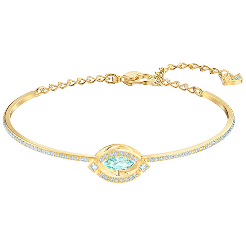 Swarovski Sparkling Dance Gold Plated Bangle Bracelet