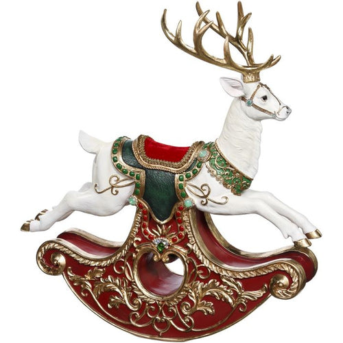 Mark Roberts 2020 Collection Rocking Deer 22-Inch Figurine