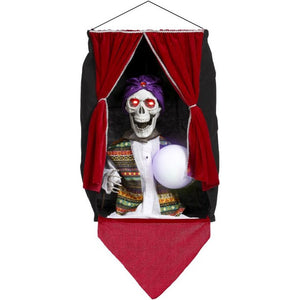 Mark Roberts 2020 Collection Animated Fortune Teller Skeleton 27-Inch Figurine