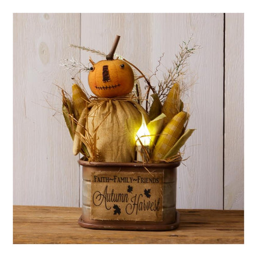 Your Heart's Delight Autumn Harvest Tin Decor