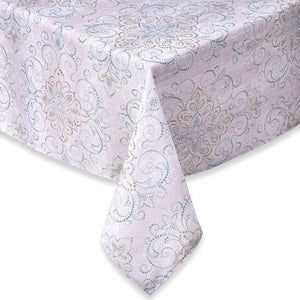 Lenox French Perle Charm Tablecloth, Multicolor