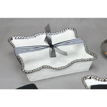 Load image into Gallery viewer, Let's Entertain Porcelain Luncheon Napkin Holder